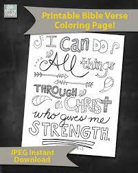 dk coloring pages bible verse coloring page philippians 4 13 printable