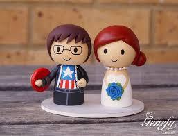 captain america cake topper captain america groom and wedding cake topper