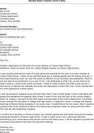 writing a reference letter for music teacher cover letter templates