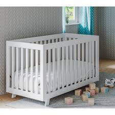 Convertible Crib White by Status Beckett 3 In 1 Convertible Crib Hayneedle