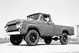 Vintage Ford 4x4 Truck - 1959 ford f 250 4x4 pickup photos gallery classic ford f