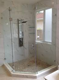 Angled Glass Shower Doors Framelessshowerglassdoors