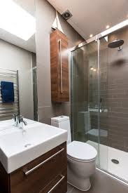 Houzz Tiny Bathrooms Houzz Small Bathrooms Bathroom Contemporary With Frosted Glass