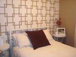 bedroom wall patterns creative ways to paint your bedroom wall paint patterns
