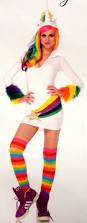 halloween fleece leg avenue cozy unicorn small halloween costume cosplay
