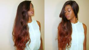 is island medium hair a wig diy copper fall ombre balayge irresitible me full lace wig youtube