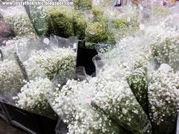 Bulk Baby S Breath Place Floristika Bangsar Jessy The Kl Chic Malaysia Food