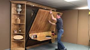 king templeton murphy bed youtube