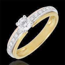 verlobungsringe gold diamant verlobungsring solitär schicksal meine königin kleines modell