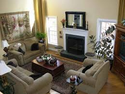 excellent living room furniture arrangement with fireplace