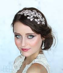 bridal headband haute rhinestone vine headband bridal headbands tiaras