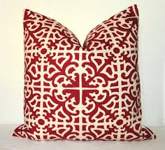 Callisto Home Pillows by Red And Grey Throw Pillows Two Throw Pillows In Red Black Gold