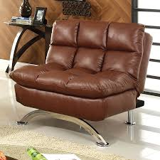 Faux Leather Futon Cover Brown Faux Leather Futon Roselawnlutheran