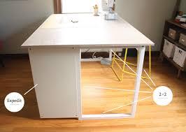 sewing cutting table ikea custom diy sewing cutting table noodlehead