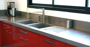plan de travail inox cuisine plan de travail inox 5m doccasion cuisine prix lolabanet com