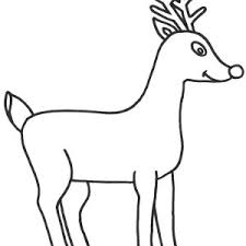rudolph red nosed reindeer flying sky coloring