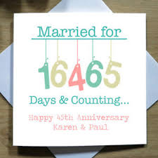 45th wedding anniversary personalised handmade 45th wedding anniversary card sapphire