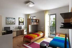 modern dorm room