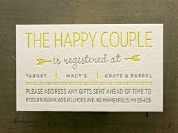 gift card registry wedding wedding invitation fresh gift registry cards in wedding wedding