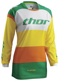 womens thor motocross gear thor phase bonnie women u0027s jersey revzilla