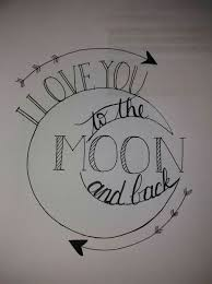 i you to the moon and back tina baby shower