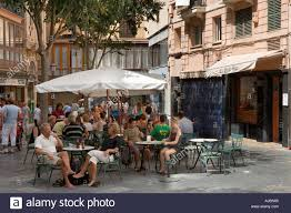 palma mallorca old town restaurants stock photos u0026 palma mallorca