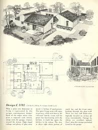 Free Modern House Plans Modern Home Interior Design Vintage House Plans 1960s Homes Mid