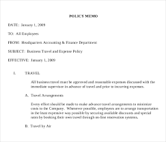 15 policy memo templates u2013 free sample example format download