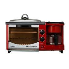 Elite Cuisine 4 Slice Toaster Oven Red Orange Toaster Ovens Toasters U0026 Countertop Ovens The
