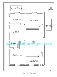 interior layout for south facing plot vastu home plans house plan for south facing plot with two bedrooms