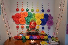 diwali decoration ideas homes ganapati decor my diy board pinterest decoration diwali and
