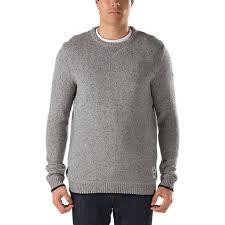 vans sweater joel tudor merced sweater shop mens sweaters at vans