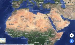 Arabian Desert Map Movement Of People Of The African Sahara Borderslynn