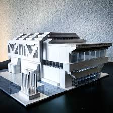 Home Interior Design Instagram Arndt Schlaudraff Recreates Brutalist Buildings From Lego For Of