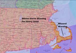 forecast heavy snow thursday blizzard conditions along the coast