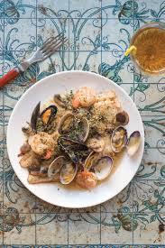 cuisine au vin blanc sole au vin blanc sole with mushrooms and shellfish recipe saveur