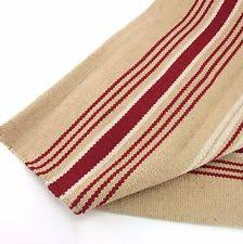 Red Washable Rug Washable Cotton Area Rugs Red Brown Stripe Pattern Simple Vintage