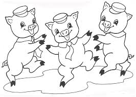 Pig Coloring Pages Coloring Pages To Print Pig Coloring Pages