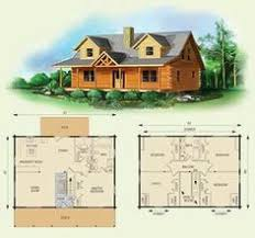 cabin floor loft with house plans dogwood ii log home and log