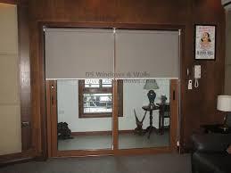 Patio Door Venetian Blinds Roller Blinds Sliding Glass Doors Saudireiki