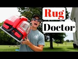 Rug Doctor On Car Seats Rug Doctor Portable Spot Cleaner Review Youtube