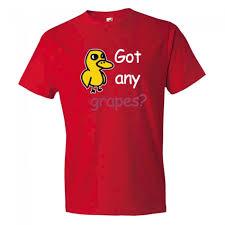 Gorilla Warfare Meme - any grapes meme tee shirt