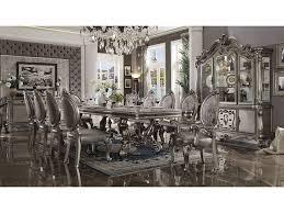 versailles dining room versailles antique platinum dining set shop for affordable home