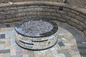 Lava Rock For Fire Pit by Recycled Granite Firepits
