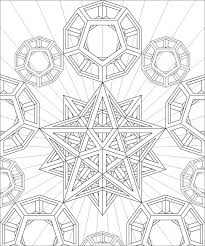 stellated dodecahedron by hop41 coloring pages pinterest