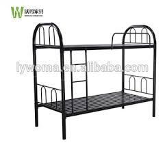 School Furniture Dormitory Bunk Beds Steel Furniture Latest Double - Steel bunk beds