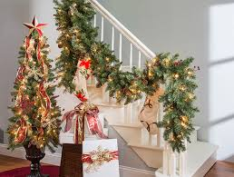Banister Decorations For Christmas How To Decorate A Banister For The Holidays Above U0026 Beyondabove