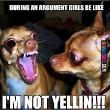 during an argument girls be like funny stuff pinterest funny