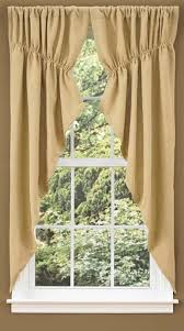 Green Burlap Curtains Country Style Drapes And Swags From Ihf And Park Designs