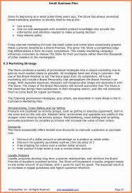 5 small business plan proposal project proposal